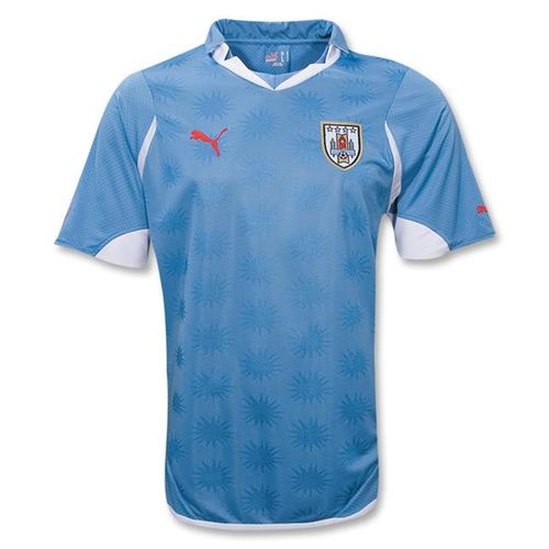 Maillots de la coupe du monde 2010! Uruguay_home