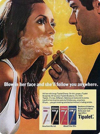 Publicité vintage sexiste