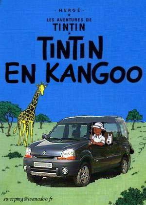 Tintinophiles s'abstenir... Funnypics-tintin-kangoo-img