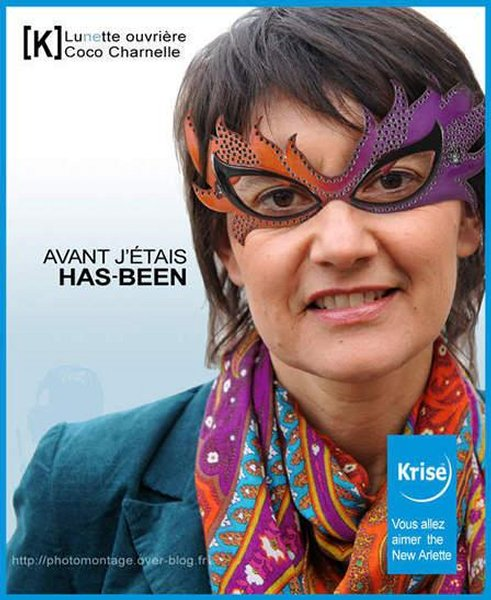 Détournement d'affiches Krys / Présidentielle 2012