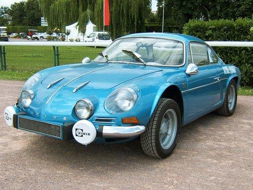 Renault Alpine A 1102 Top 10 des voitures françaises les plus classes de lhistoire