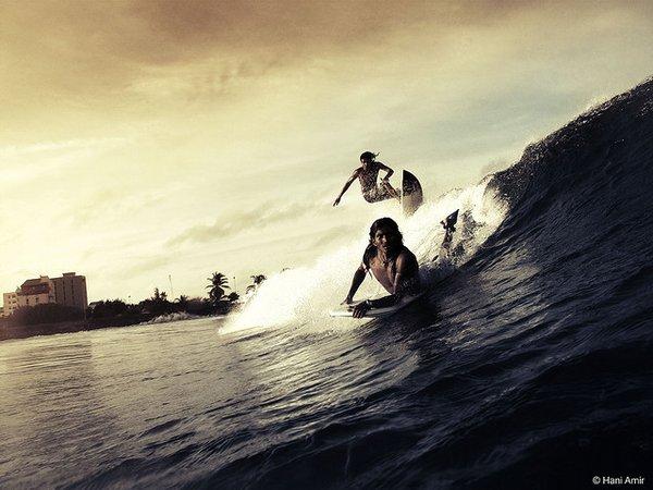 Top 15 des superbes photos de surf (dans la vague, carrément)