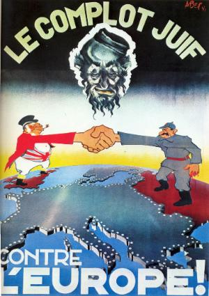 00 LeComplotJuif Top 16 des pires affiches de propagande durant la seconde guerre mondiale