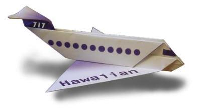 avion papier 07 Top 10 des plus beaux avions en papier à faire voler un dimanche pluvieux